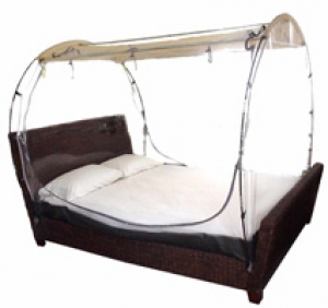 Deluxe bed tent